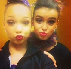 !SPOILER! Maddie and Kalani in what it assume are the duet costumess