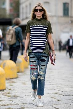 The Street Style at Milan Fashion Week May Be the Best Yet Day 1 Sarah Rutson