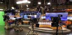 KSTP-TV Studio, Editing & Master Control Integration Alpha Video, Fair Grounds, Audio, Tv, Television Set, Television