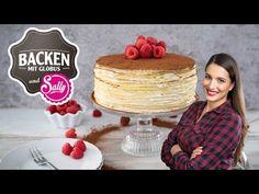 NEW: Tiramisu crêpes cake - Today Pin Tiramisu, Crepes, Sully Cake, Pink Champagne Cake, Cakes Today, Cinnamon Cookies, No Bake Pies, Dessert Recipes, Desserts