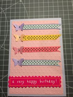 Birthday card #handmade by BB