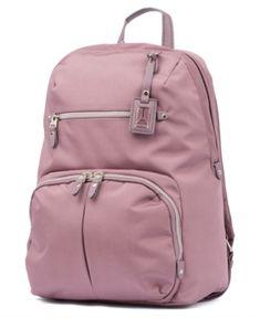 5deb42557619 Travelpro Pathways Laptop Backpack - Pink Leather Laptop Backpack, Luggage  Backpack, Backpack