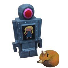 Amanda Visell x Michell Valigura - Robot and Fox (1505-90)