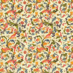 Rossi Florentine Print - Traditional Floral