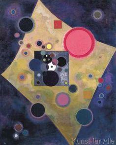 Wassily Kandinsky - Accent en Rose, 1926