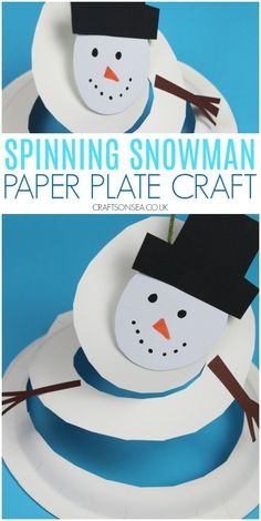 Artesanato de boneco de neve girando com as cartas da asma do Reino Unido para o Papai Noel Christmas Activities For Kids, Easy Christmas Crafts, Christmas Crafts For Kids, Hat Crafts, Snowman Crafts, Snowman Wreath, Toddler Art Projects, Toddler Crafts, Kids Crafts