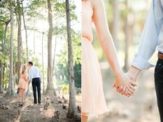 KT Merry Photography // naples engagement session in the woods. i am in love with her work.