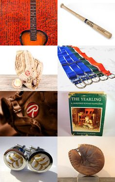 Rawlings by Elinor Levin on Etsy--Pinned with TreasuryPin.com