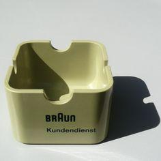 Braun ashtray for cigar + cigarette (customer service)