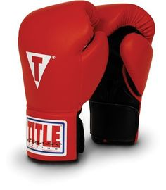 TITLE Classic Hook-and-Loop Leather Training Gloves, Red, 16-Ounce by Title Boxing. $40.77. Colors: Black, Red, Blue Sizes: 14 oz., 16 oz., 18 oz.