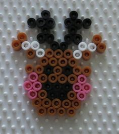 Christmas reindeer perler beads