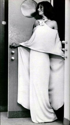 Fashion by Pierre Cardin for L'officiel magazine, 1970s.