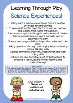 All EYLF Resources :: Science Week 2018 - An EYLF Resource