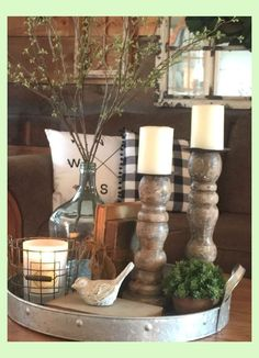 beautiful farmhouse coffee table design for living room 23 ~ Home Design Ideas Living Room On A Budget, Living Room Remodel, Kitchen Remodel, Apartment Living, Apartment Therapy, Decorating Coffee Tables, Coffee Table Design, Decoration Table, Table Centerpieces