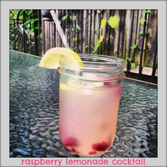 Low Calorie Raspberry Lemonade Cocktail featuring smirnoff sorbet light - The Sequin Notebook