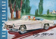 La Clase SL, ha representado a la marca Mercedes-Benz impresionantes coches…