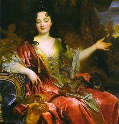 Anne Marie de La-Tremoille, Duchess Bracciano attributed to Nicolas de Largillière (location unknown to gogm)   Grand Ladies   gogm