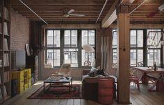 Bachelor Pad Loft Apartment