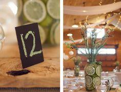 Rustic Farm Wedding -  Centerpieces - Bright   Ayers Wedding | Winston-Salem, NC Wedding Photographer