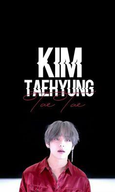 Hermoso (Lo hice yo) - Beautiful (By Me)    - -  BTS   bts  Fondo de Pantalla  Kpop  Korean  Taehyung  Tae  V Kim Taehyung  TaeTae  Kpop Wallpaper  Fondos  Fondo  Black  Red  White