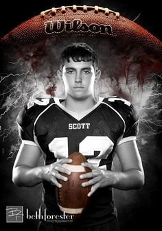Boys senior football pictures - bing images senior picture i Football Senior Pictures, Football Poses, Football Ads, Youth Football, Football Design, Football Program, School Football, Boy Senior Portraits, Senior Photos