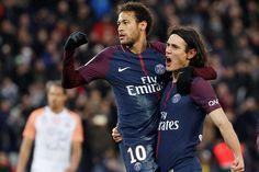 Doblete de Neymar en su regreso y goleada del PSG
