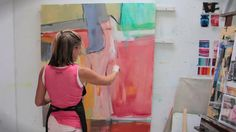 Trudy Montgomery: Ribbons of Colour...four minute video on her process.