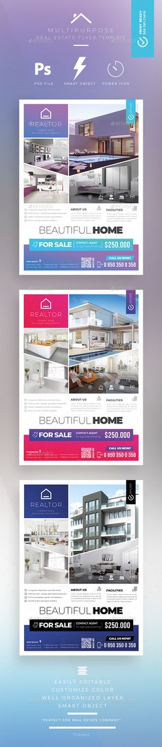 #Real #Estate #Flyer - Flyers Print #Templates