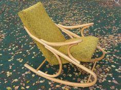 Rocking chair by Antonin Šuman for Ton Czechoslovakia, Retro Design, Rocking Chair, 1960s, Furniture, Vintage, Home Decor, Chair Swing, Decoration Home, Room Decor