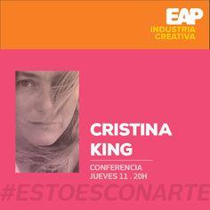 #HubEAP #Sabíasque la Conferencia de Cristina King: EL PROMOTOR CULTURAL Y LA CONSTRUCCIÓN DE PÚBLICOS se ha cambiado de día.  Nos vemos este jueves para conocer todas las maneras de llevar público a nuestros eventos culturales! [MAY.11 . 20H . EAP] #EstoEsCONARTE