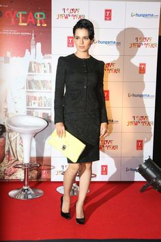 "Kangana Ranaut Launches ""I LOVE NEW YEAR"" Movie First Look."