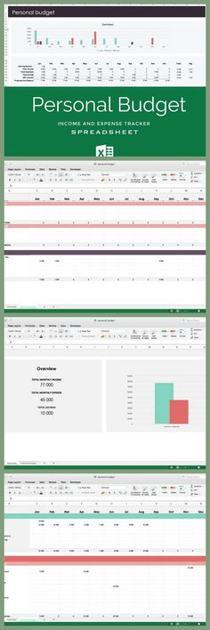 Excel Spreadsheet Monthly Budget Planner Check more at