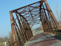 This vintage bridge near Sapulpa is just one of many eye catching structures along Route 66 through Oklahoma. Check out TravelOK's list of top Route 66 attractions to plan your road trip.