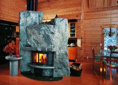 Bolder Tulikivi Fireplace