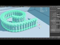"CGI Free Download: ""Instance Along Curve Autodesk Maya Plugin"" by Mariano Merchante - YouTube"