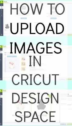 How to Upload Your Own Images into Cricut Design Space DIY and Crafts How To Use Cricut, Cricut Help, Cricut Air 2, Cricut Vinyl, Cricut Fonts, Cricut Stencils, Cricut Mat, Cricut Monogram, Free Monogram