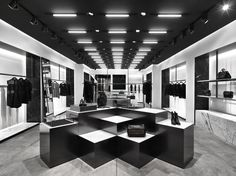 In-store design: Alexander Wang Retail Store Design, Retail Shop, Jewelry Store Design, Store Layout, H Design, Retail Merchandising, Retail Interior, Retail Space, Shop Interiors