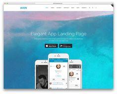 aven-app-landing-pag-website-template