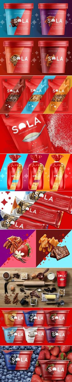 Lose The Sugar But Not The Taste With Sola — The Dieline | Packaging & Branding Design & Innovation News
