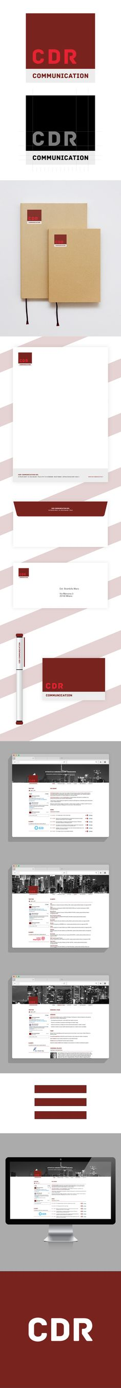 CDR COMMUNICATION - WEB & CORPORATE IDENTITY