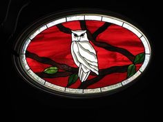 The Owl - Delphi Stained Glass