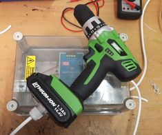 Cordless/Corded Drill : 4 Steps (with Pictures) - Instructables Cordless Drill Batteries, Cordless Power Tools, Corded Drill, Cable, Drill Press, Crimping, Diy Electronics, Fun To Be One, Tool Box