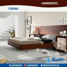 #Ambientes Crema combinados con blanco, generan frescura, elegancia y claridad en el hogar.  http://www.pintulac.com.ec