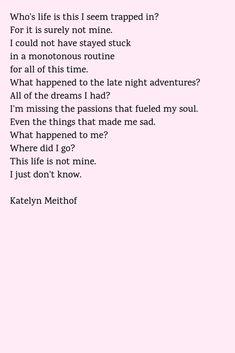 Where did I go? -