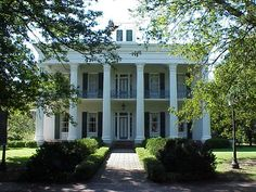 Sturdivant Hall, The Finest Greek Revival Neo-classic Antebellum Mansion in the Southeast. - History and Architecture