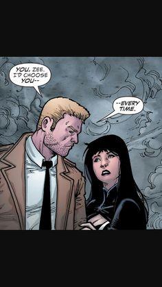 Zatanna and Constantine