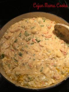 OOk this is one of my most favorite, tried and true, best recipes. This is the one I trot out when I want to impress and have my friends begging for more. It's creamy, it is just spicy … Crawfish Fettucine…like seriously the best stuff ever craft Crawfish Fettucine Recipe, Crawfish Pasta, Crawfish Recipes, Cajun Recipes, Seafood Recipes, Pasta Recipes, Dinner Recipes, Cooking Recipes, Haitian Recipes