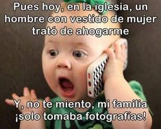 Spanish humor - Bautizo socorro casi me ahogan Funny Friday Memes, Funny Spanish Memes, Spanish Humor, Friday Humor, Monday Memes, Spanish Quotes, Funny Animal Quotes, Funny Quotes, Life Quotes