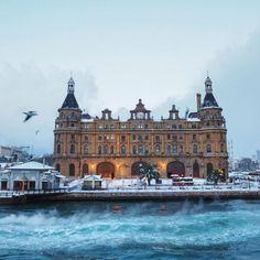 Winter ❄️❄️ Haydarpasa Train Station,Istanbul,Turkey….. by Çiler Geçici (audiosoup)