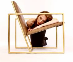 Gravity Chair by Andrew McQueen